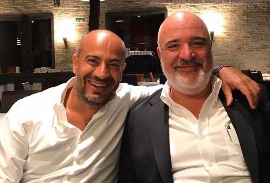 Con Gianluigi Paragone