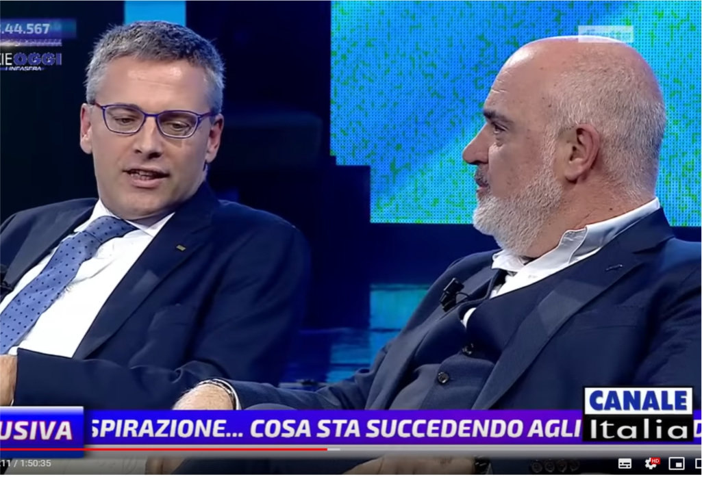 Con Claudio Demozzi